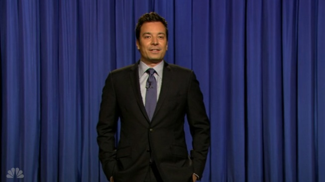 "Fallon Reveals Baby Girl's Name on ""Late Night"""