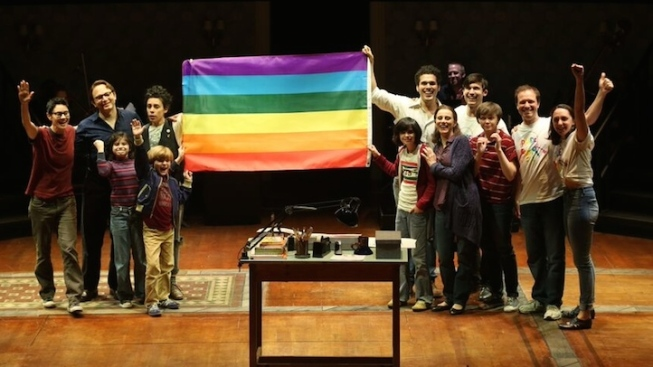 Broadway Celebrates Marriage Equality Decision