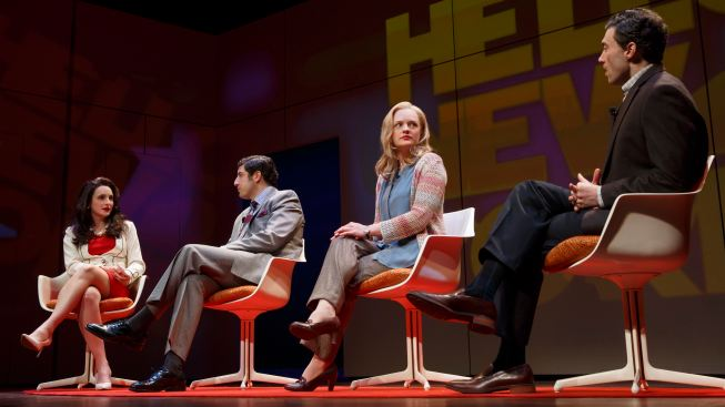 "Elisabeth Moss Brings ""The Heidi Chronicles"" Back to Broadway"