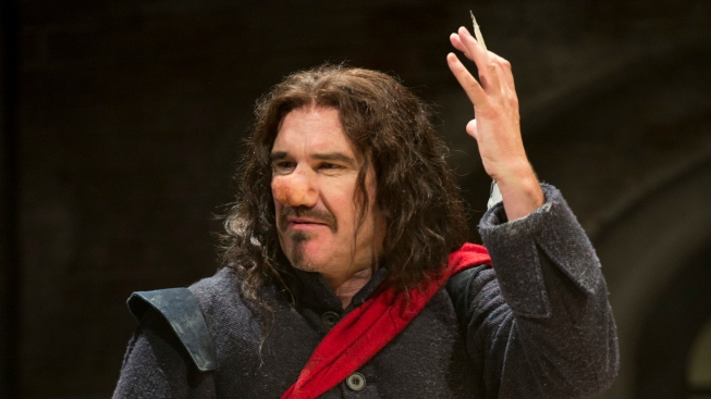 """Hodge, Starring in """"Cyrano,"""" Plans a Sweet Next Act"""