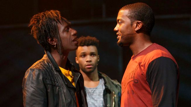 "Review: Tupac's Gangsta Rap Comes to Broadway in ""Holler If Ya Hear Me"""