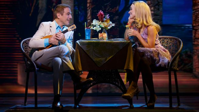 "Review: ""Vegas"" Has an Ace Up its Sleeve -- a Groovy Score by Jason Robert Brown"