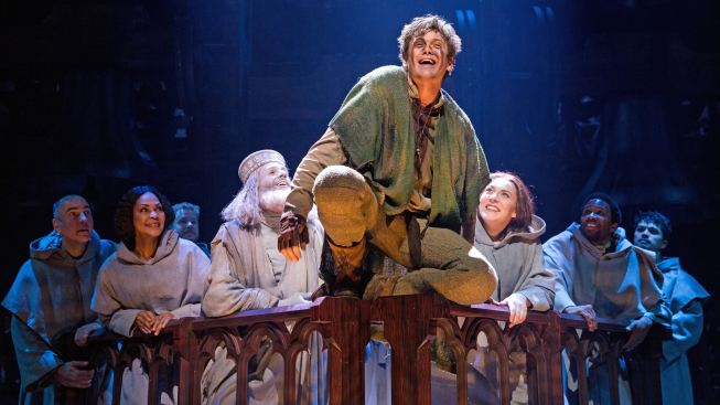 """Hunchback,"" at Paper Mill, Has Some Kinks to Work Out"