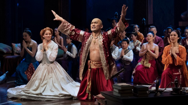 "O'Hara and Watanabe Lead Respectful Revival of ""The King and I"""