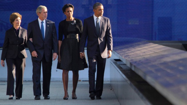Obama Briefed on 9/11 Anniversary Preparations