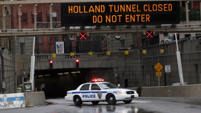 Holland Tunnel Reopens to NJ