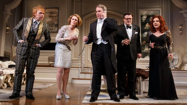 "Review: Stellar Cast Aside, ""It's Only a Play"" Tries a Bit Too Hard to Be Funny"