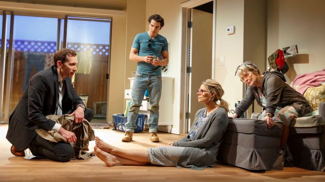 Review: Existential Comedy 'A Parallelogram' Takes Shape Off-Broadway