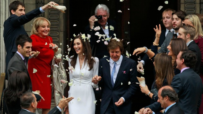 """Love Me Do"": Paul McCartney Gets Married"