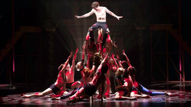 """Pippin"" Finds Its Corner of Broadway"
