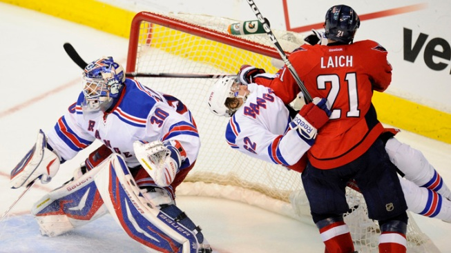 Rangers Fall to the Capitals, 3-2