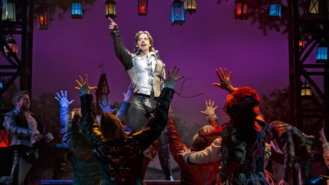 "It's the Bottoms on Top in Easygoing Comedy ""Something Rotten!"""