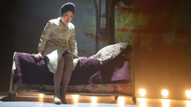 "Review: Imelda Marcos Returns to The Public in Rousing ""Here Lies Love"""