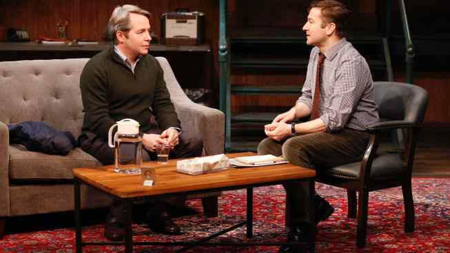 Matthew Broderick in Irish Rep's Eerie 'Shining City'