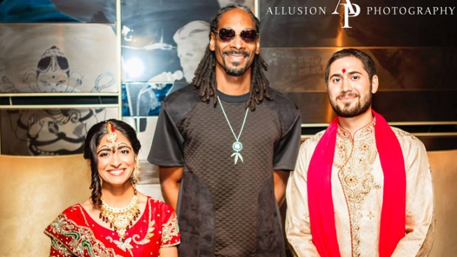 Snoop Dogg Crashes Hindu Wedding in Chicago