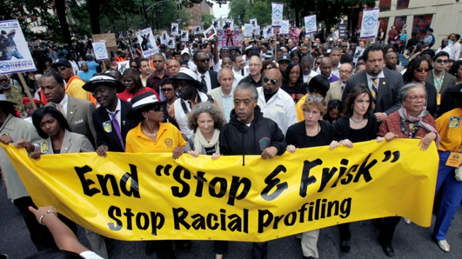 Marchers Protest NYPD's Stop-and-Frisk Tactics