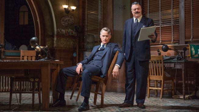 John Slattery, Nathan Lane Headline Revival of Broadway Classic 'The Front Page'