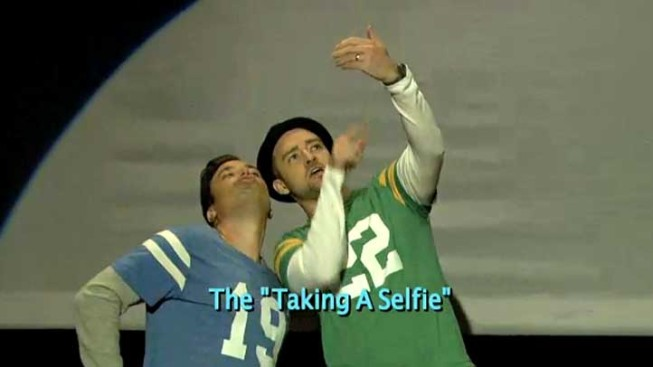 "WATCH: Fallon, Timberlake Dance Through the ""Evolution"" of End Zone Celebrations"