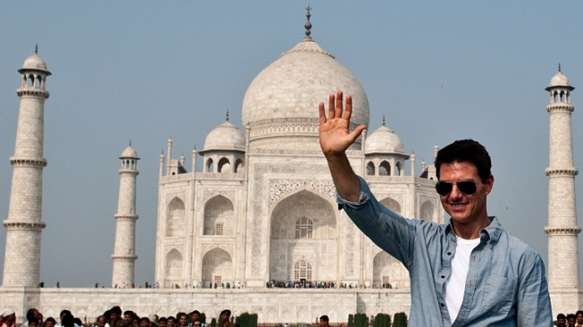 "Tom Cruise ""Very Excited"" to Visit India, Taj Mahal"