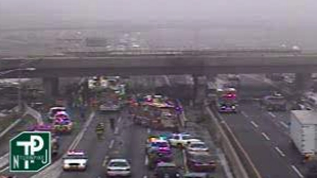 Serious Accident Shuts Down NJ Turnpike - NBC New York