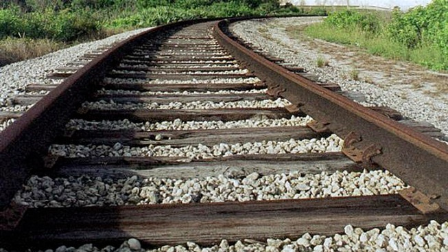 Thieves Make off with 10-Ton Bridge, Railroad Track