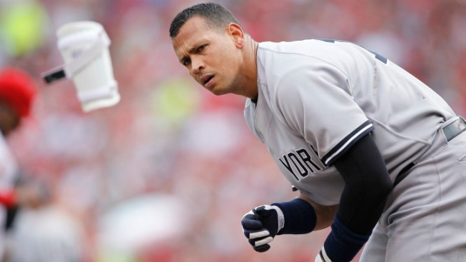 A-Rod Has Slight Tear in Knee, Could Miss A Month