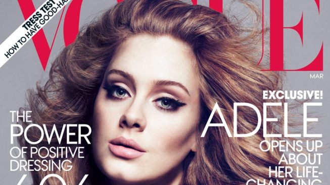 Adele Lands Vogue's March Cover