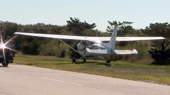 Small Plane Makes Emergency Landing at Robert Moses State Park
