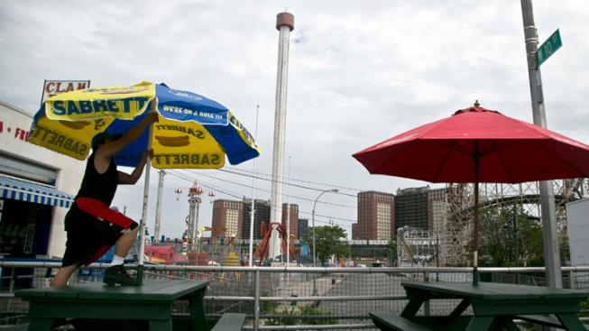 Swaying 275-Foot Coney Island Tower Reduced to 92