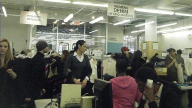 Above the Fray: Inside the Barneys Warehouse Sale