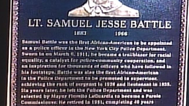 NYPD Marks 100th Anniversary of 1st Black Officer