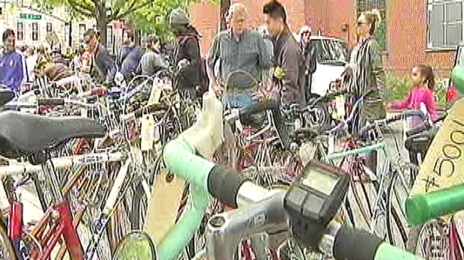 Bikes, Gear, Art for Sale at NY Bike Jumble
