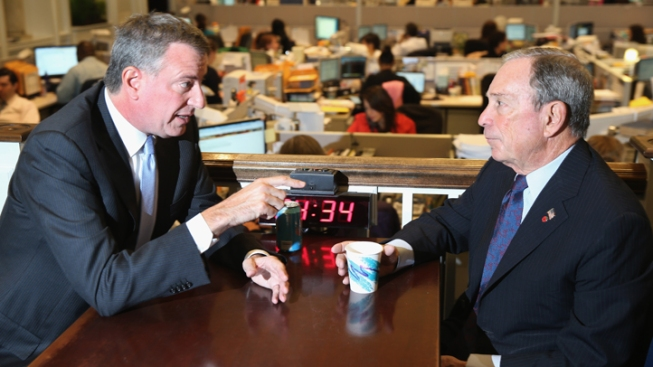 Mayor Bloomberg Compares NYC Election to Hemlines Changing