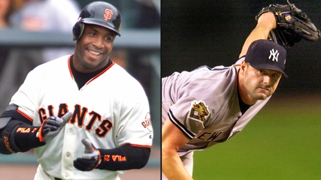 Barry Bonds and Roger Clemens Fall Short of Baseball Hall of Fame