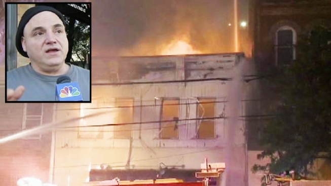 New Jersey Nightclub Bouncer Saves Elderly Woman From Fire