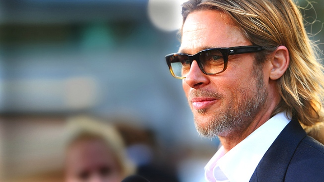 "Brad Pitt Soothes Suicidal Actor at ""Moneyball"" Screening: Report"