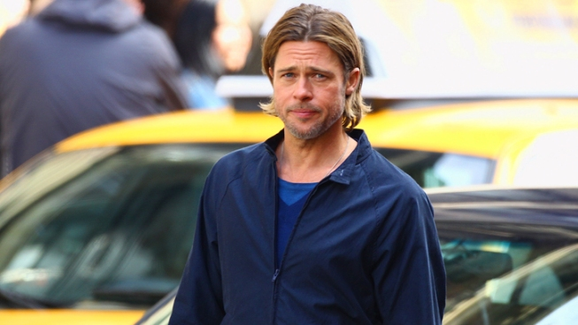 Brad Pitt's Movie Set Raided by SWAT Team