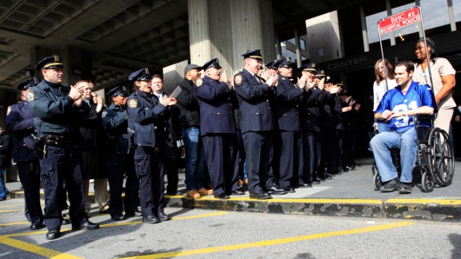 NYPD Officer Shot in Head Released from Hospital