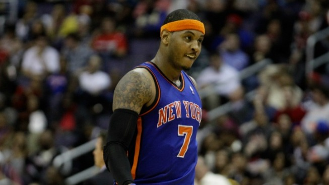 Carmelo Anthony Will Take the Weekend Off