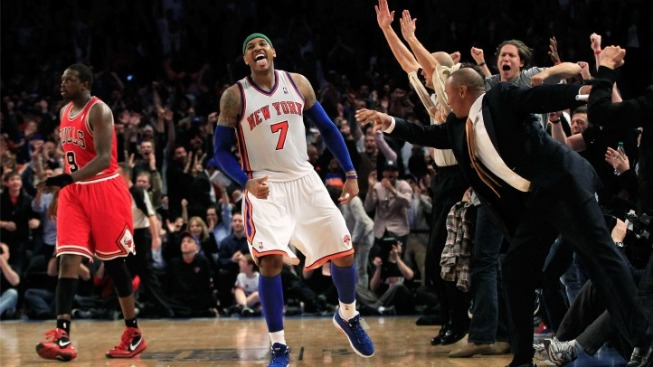 Carmelo Anthony Makes MSG His House