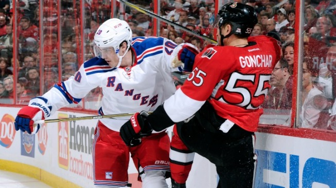Rangers Go For Complete Control in Game Four
