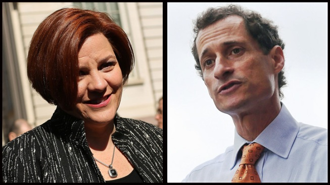 Anthony Weiner Gains Ground as Christine Quinn Slips in New Mayoral Race Poll