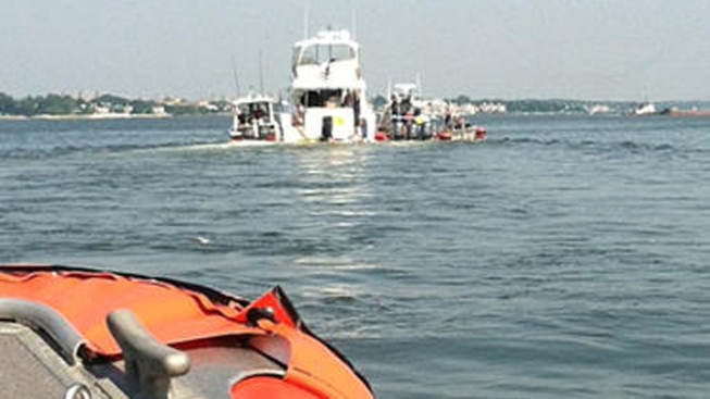 Coast Guard and FDNY Rescue 4 from Sinking Yacht