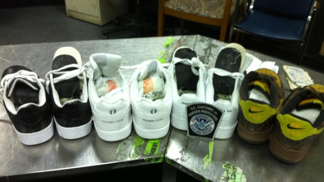 5 Pounds of Cocaine Hidden in Shoe Soles at JFK