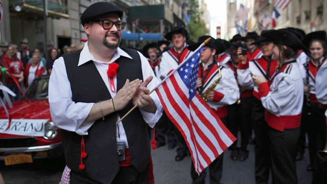 Columbus Day Parade Kicks Off on Fifth Avenue
