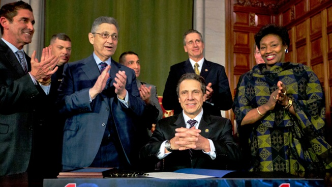 NY Passes Nation's Toughest Gun Control Law