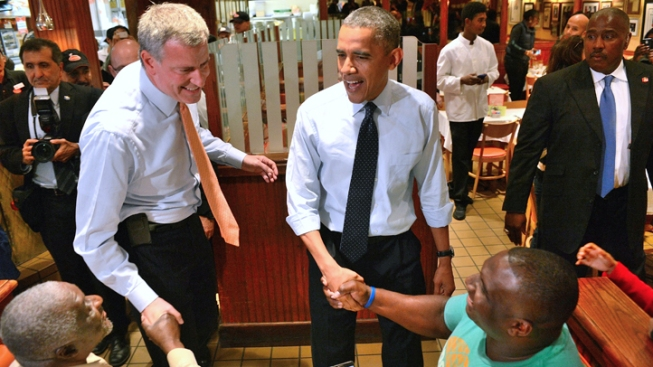 De Blasio to Meet With Obama at White House Friday