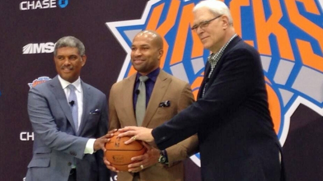 Derek Fisher Joins Knicks as Head Coach