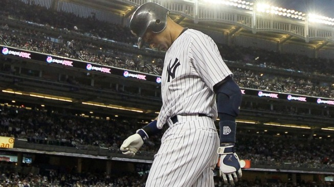 Yankees Place Derek Jeter on the Disabled List