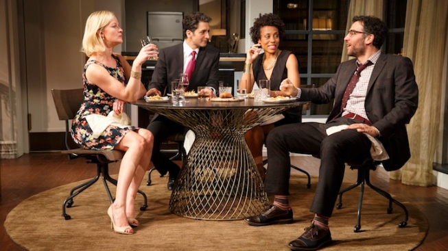 "Review: Racial, Religious Tensions Flare Up Over Dinner in ""Disgraced"""